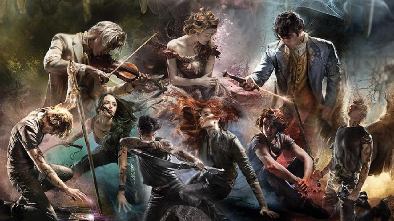 the mortal instruments books - 736×490
