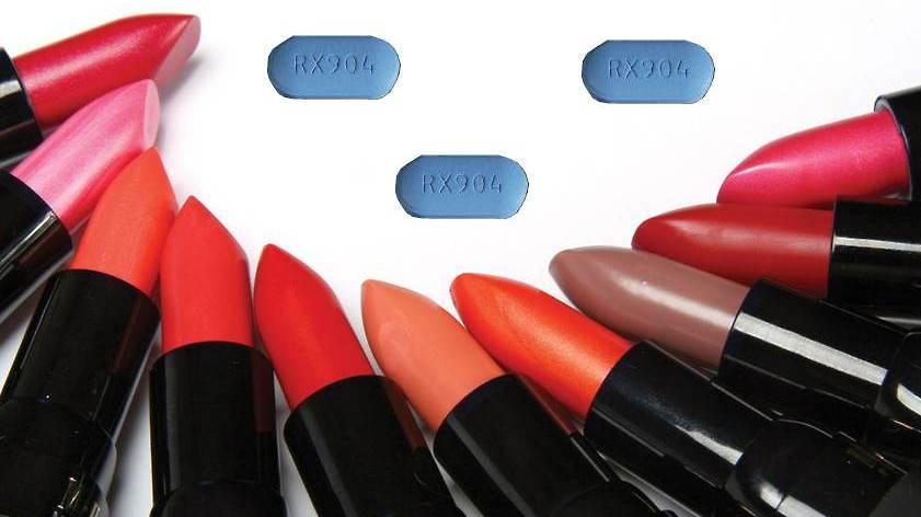 Lipstick and Valtrex