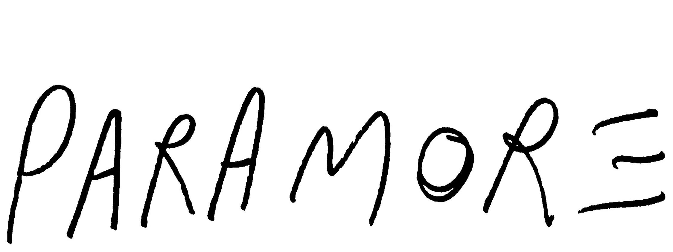 paramore band logo - photo #3