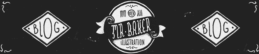 Mr Baker Illustration