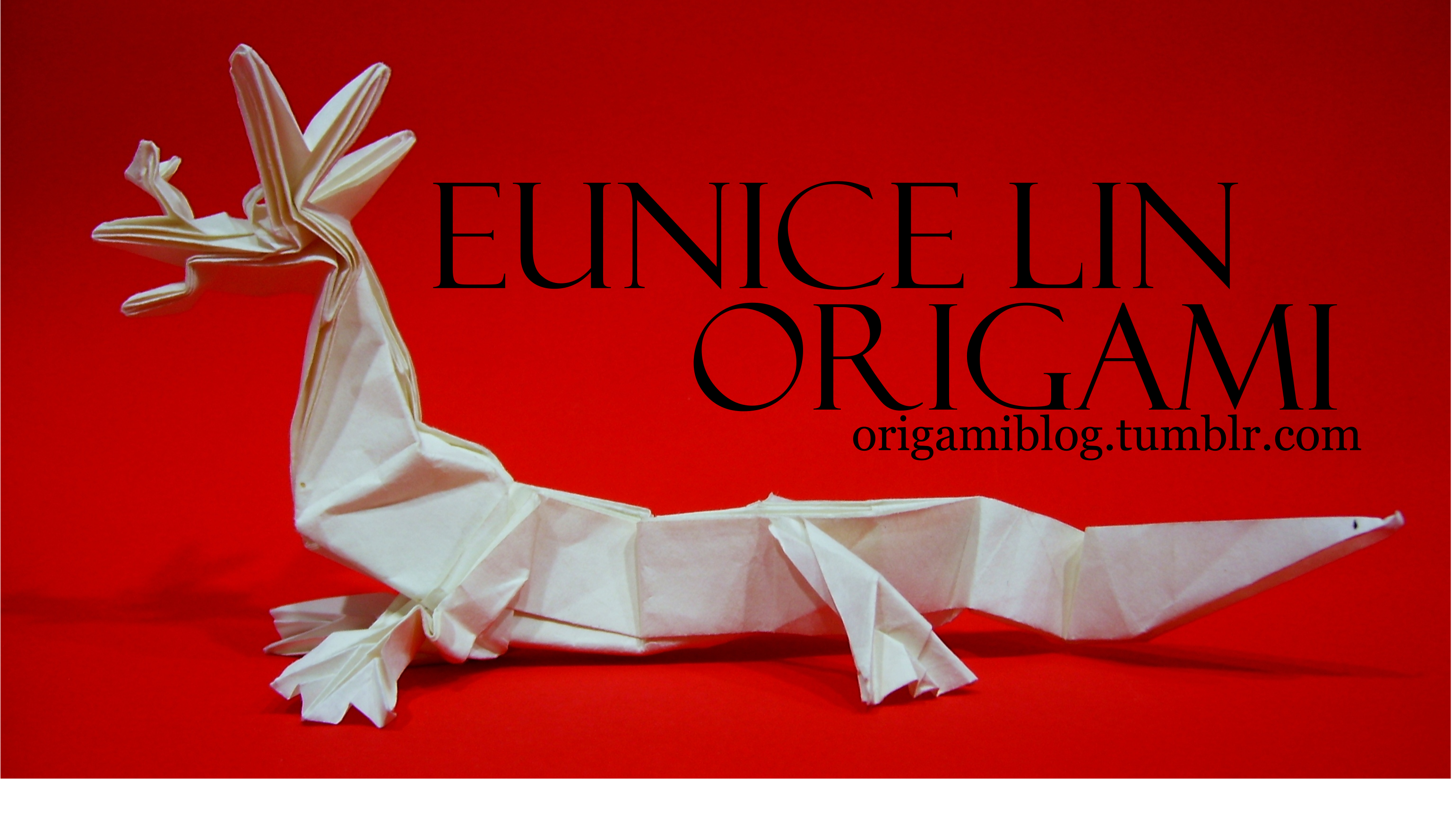 Origami Blog Cute Mouse Diagram Banner