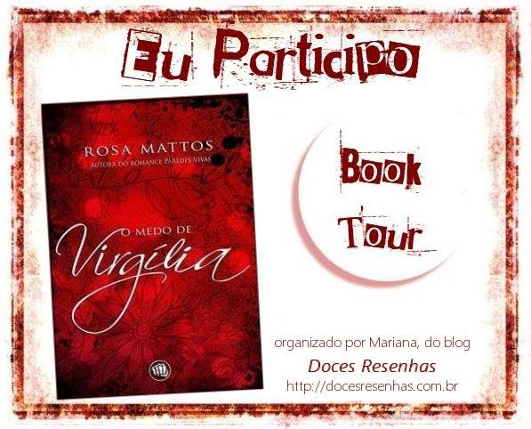 Book Tour: O medo de Virgília