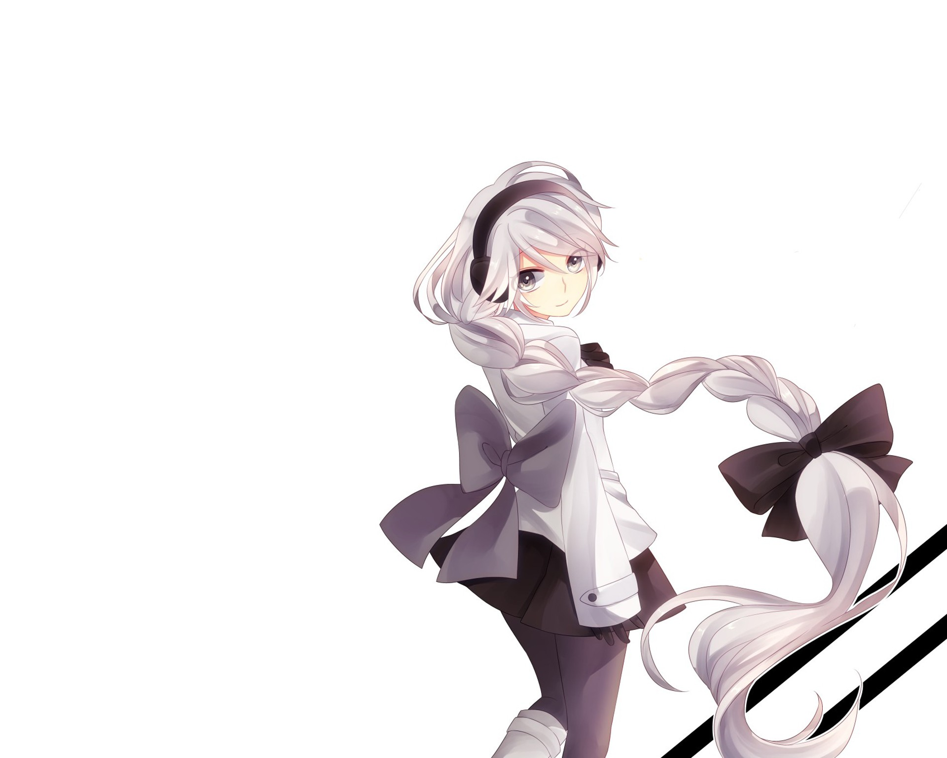 аниме картинки белый фон: