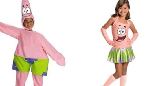 f no sexist costumes