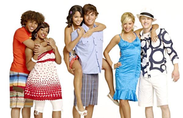High School Musical 1 Cast High School Music
