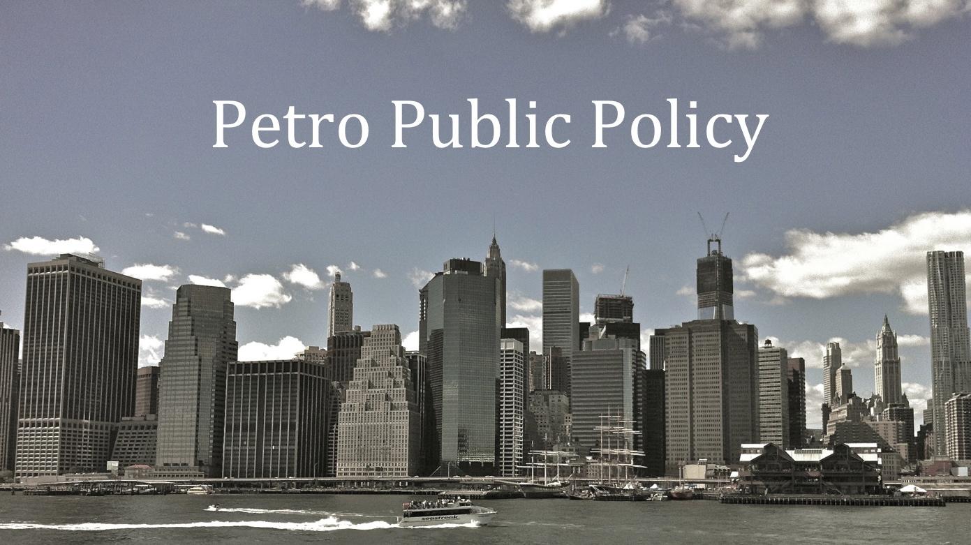 Petro Public Policy