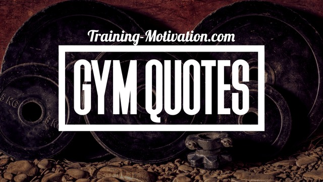 Motivational Gym Quotes