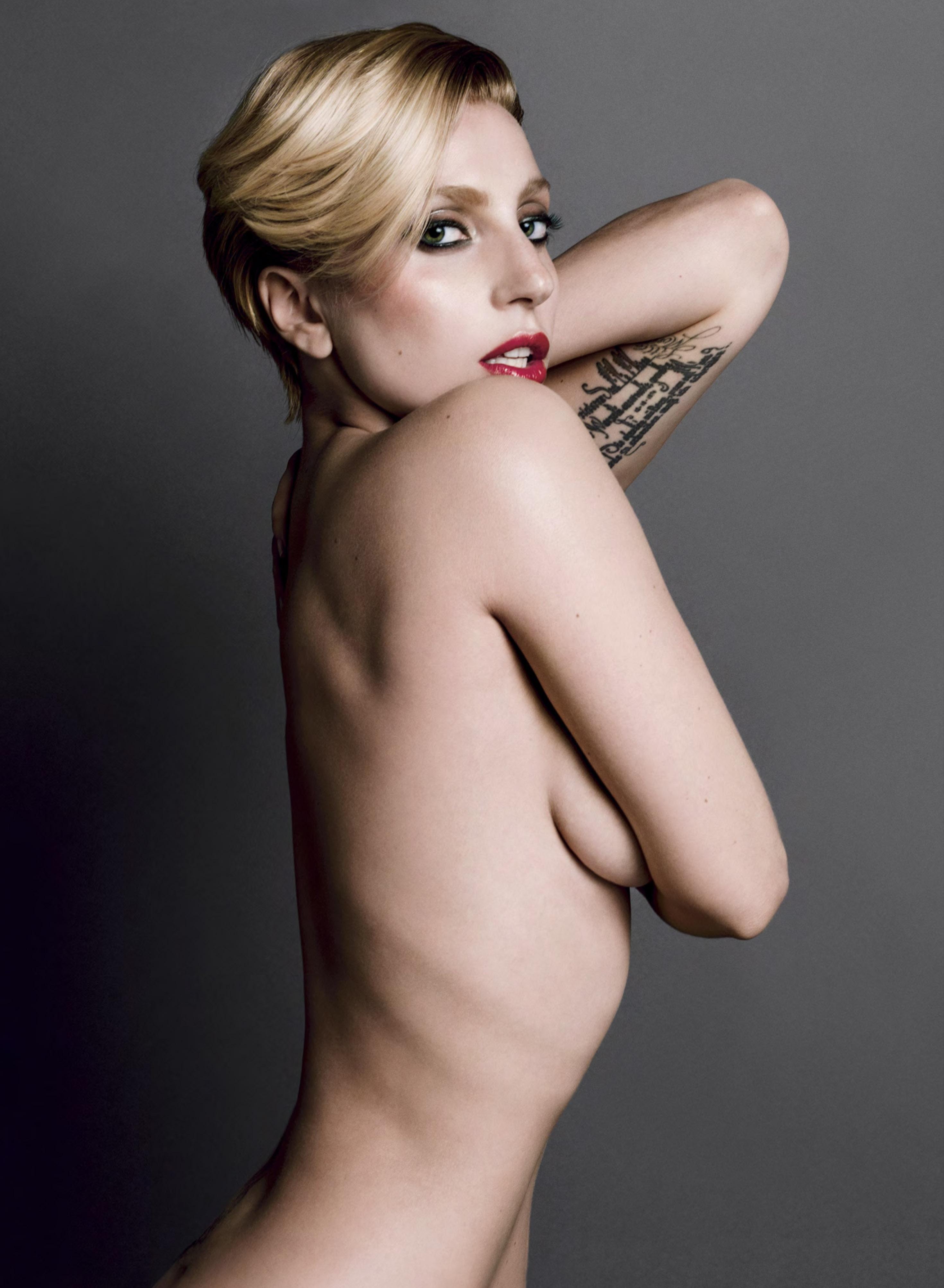 Lady gaga nude magazine