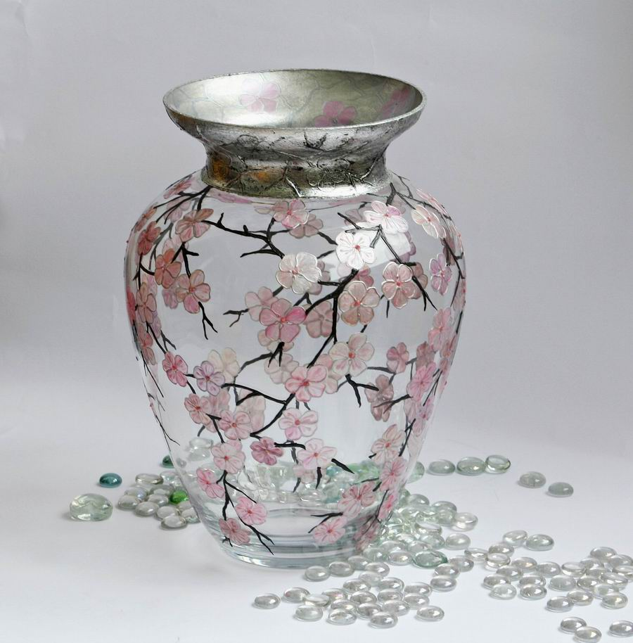 Hand painted glass for Hand painted glassware
