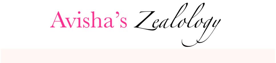 Avisha's Zealology