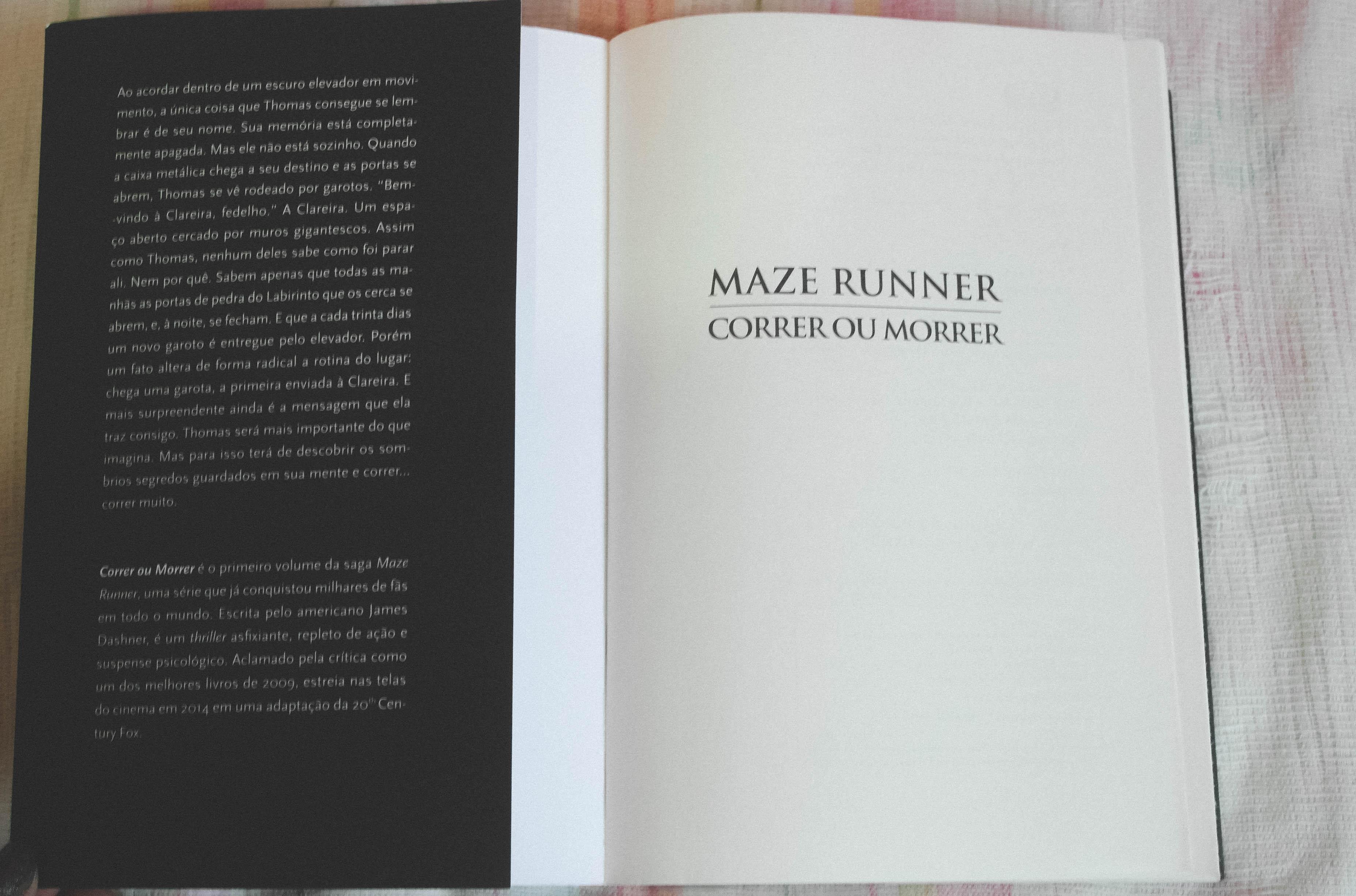 Maze runner resenha