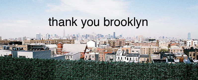thank you brooklyn