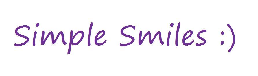SimpleSmiles3
