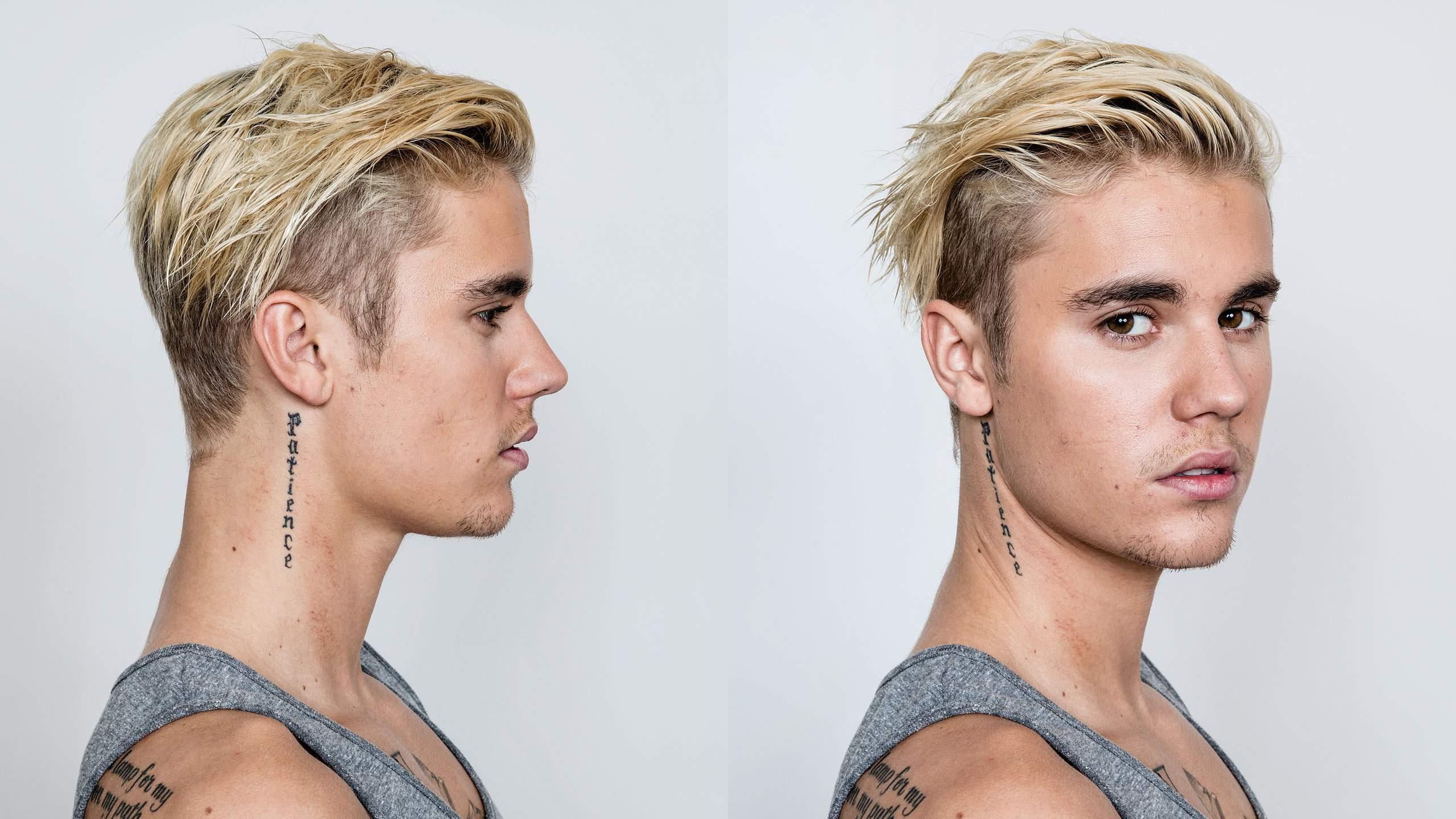 Как сделать причёску как у джастина бибера