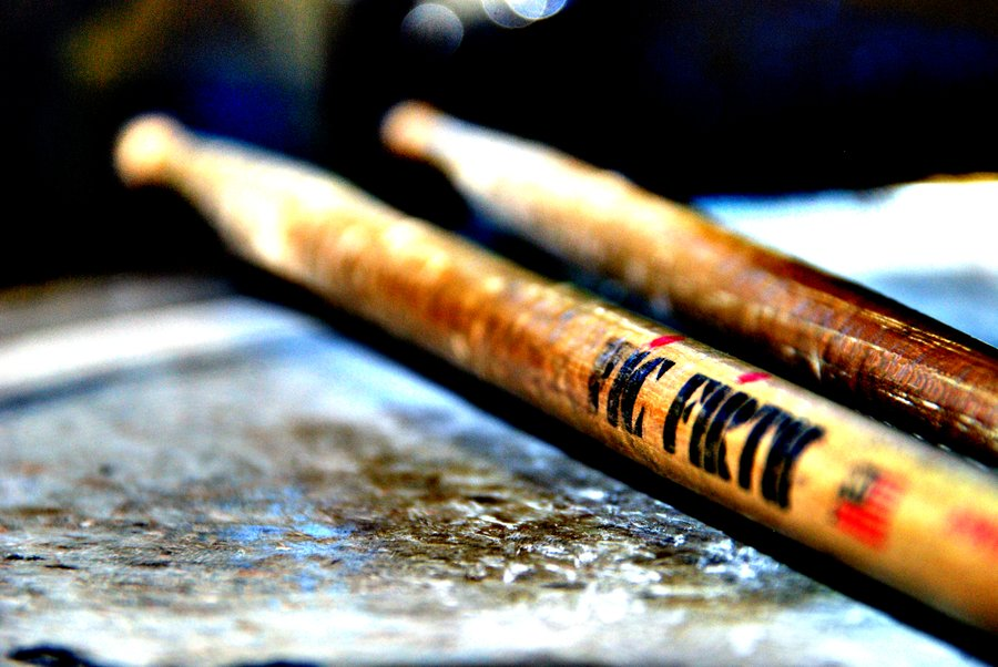 Cool Drumsticks Wallpaper