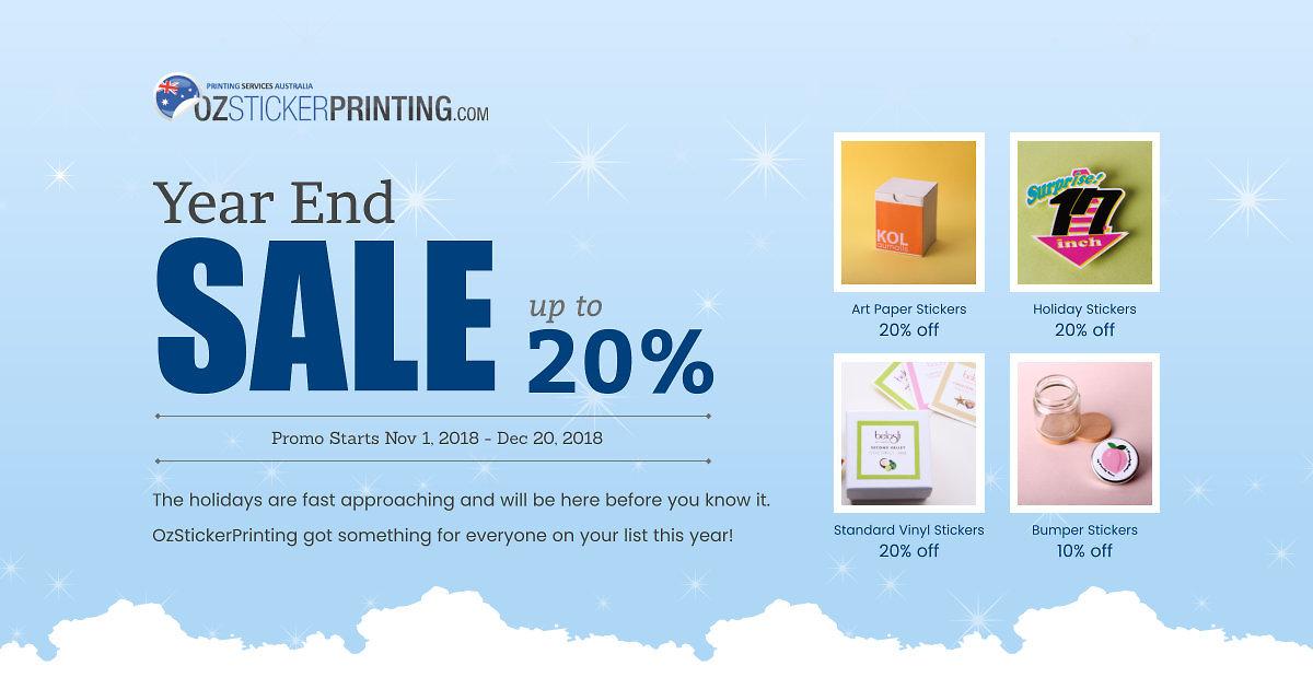 Australia's Leading Online Custom Sticker Printing
