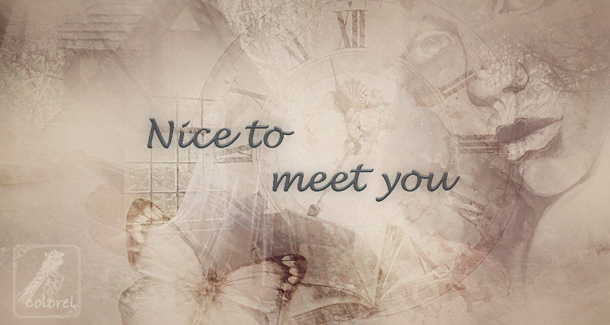 Nice to meet you..