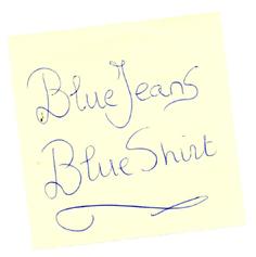 bluejeansblueshirt