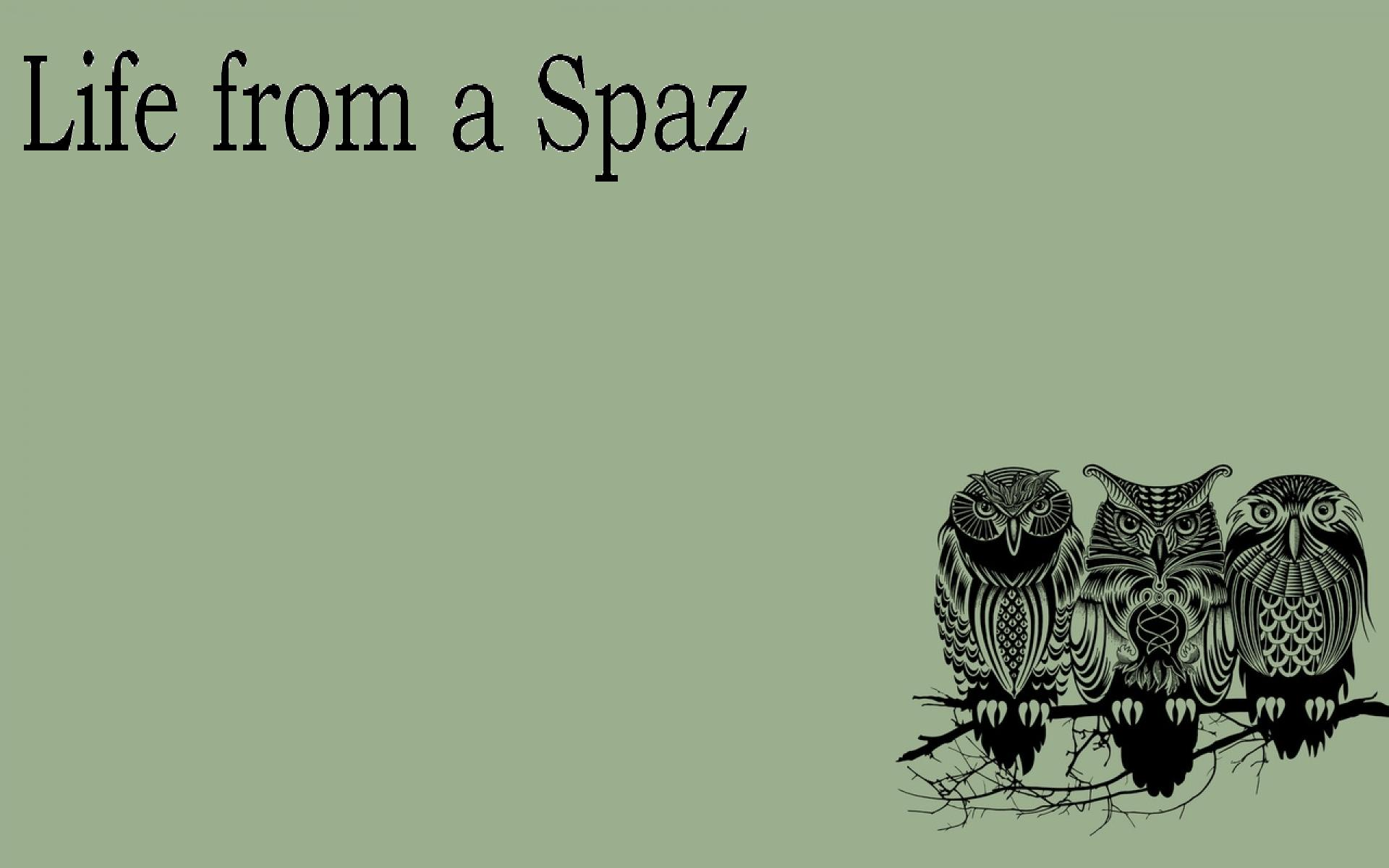Life from a Spaz