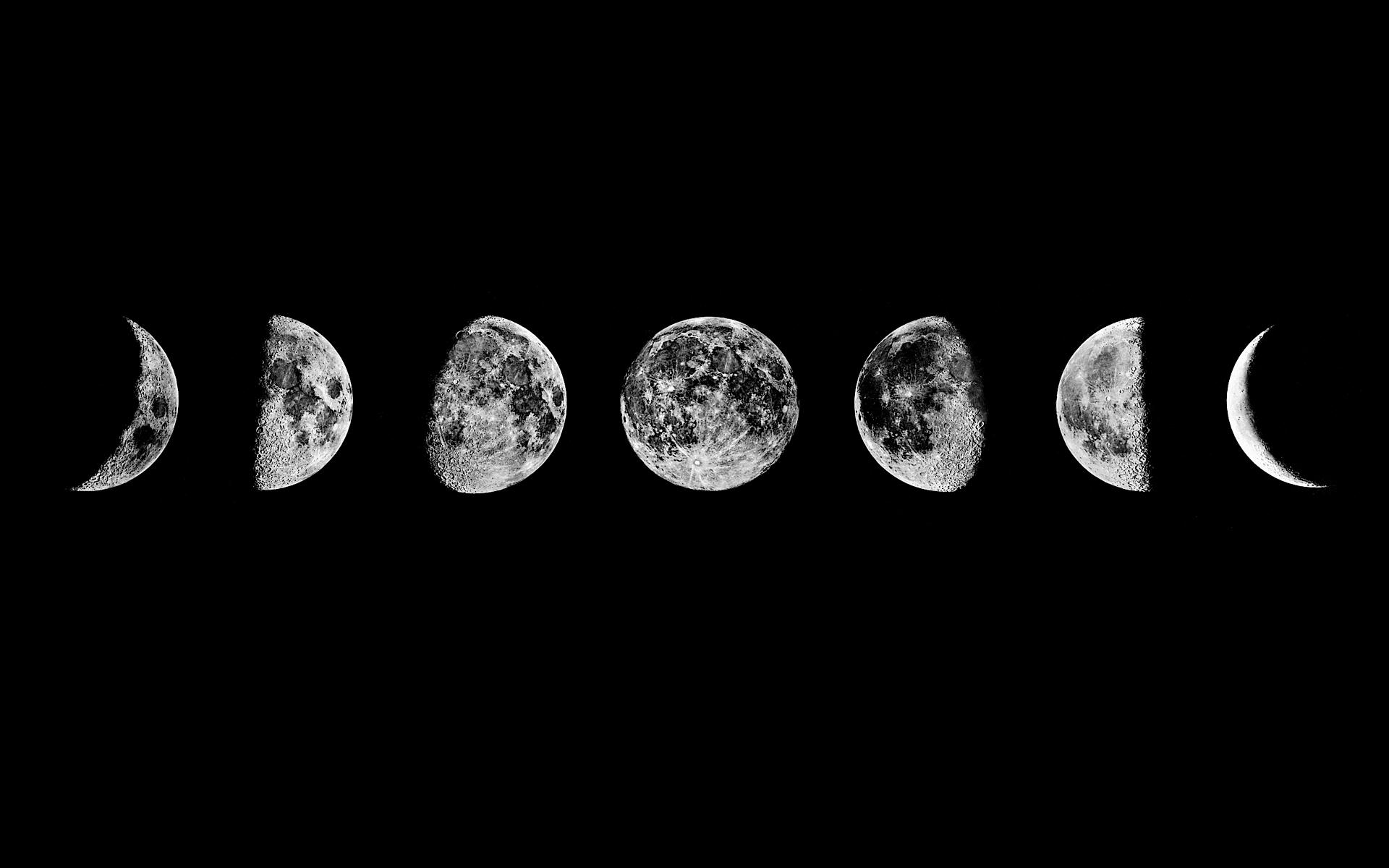 Cute Iphone Wallpaper Moon Phases Tumblr  Image 1879062 By Taraa On Favimcom