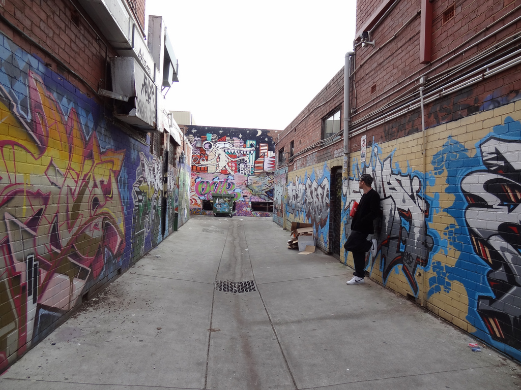 Street hustler artwork