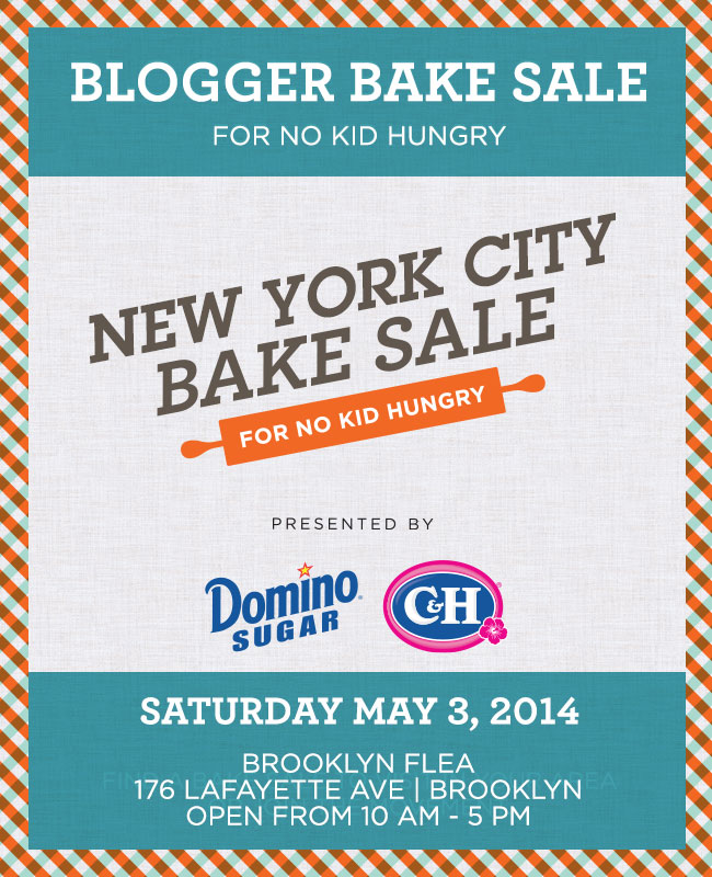 NYC Bake Sale for No Kid Hungry