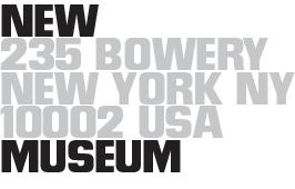 New Museum