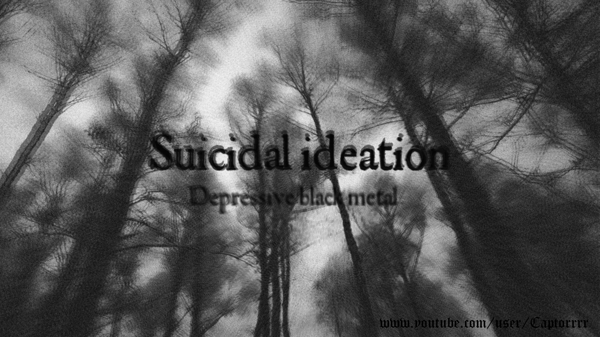 SUICIDAL IDEATION Depressive black metal