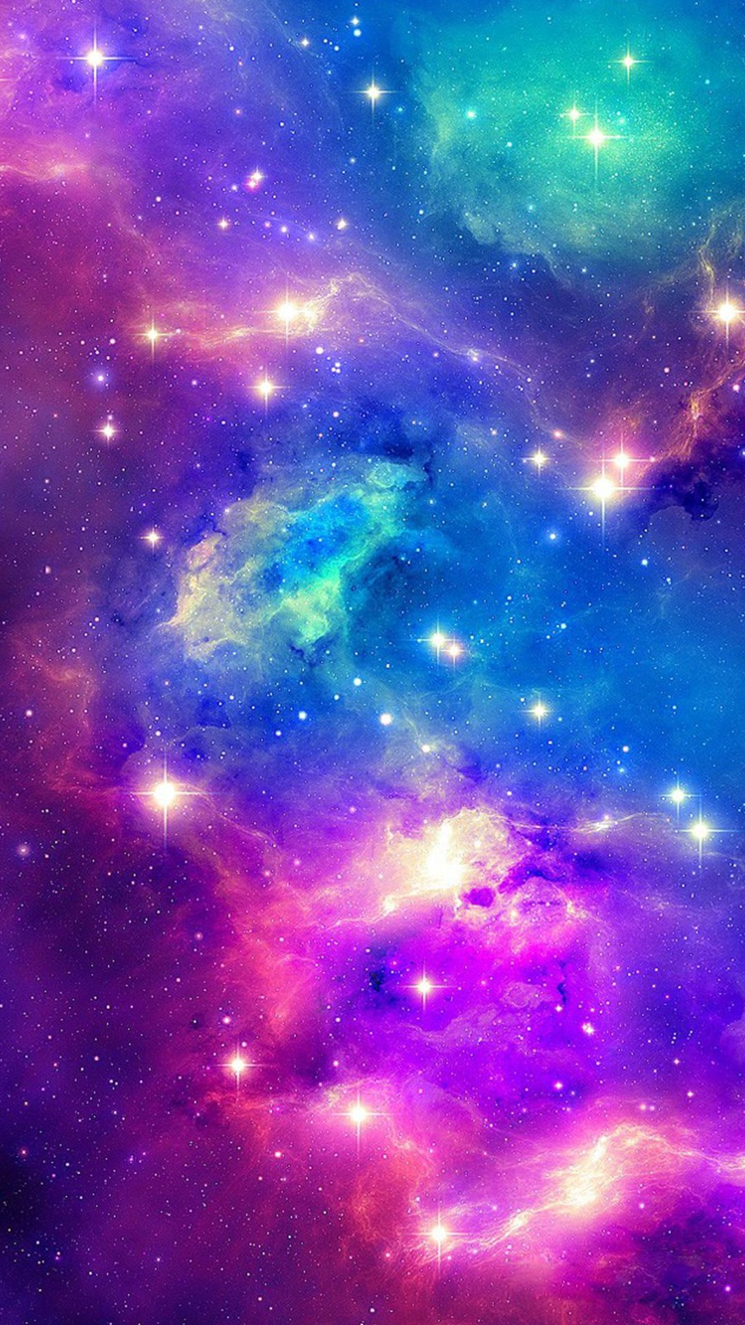 Colorful Galaxy Tumblr Wallpaper (page 2) - Pics about space