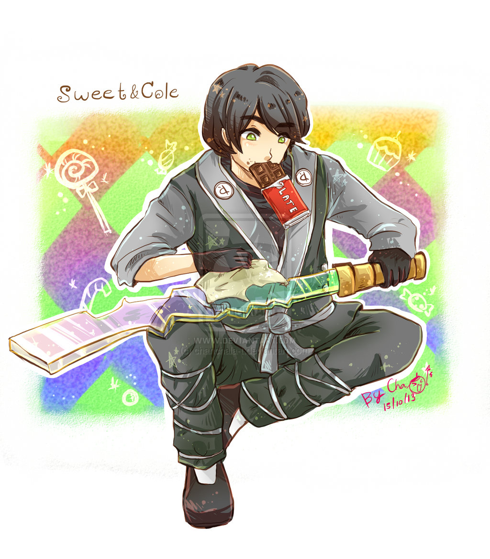 תוצאת תמונה עבור ninjago cole anime