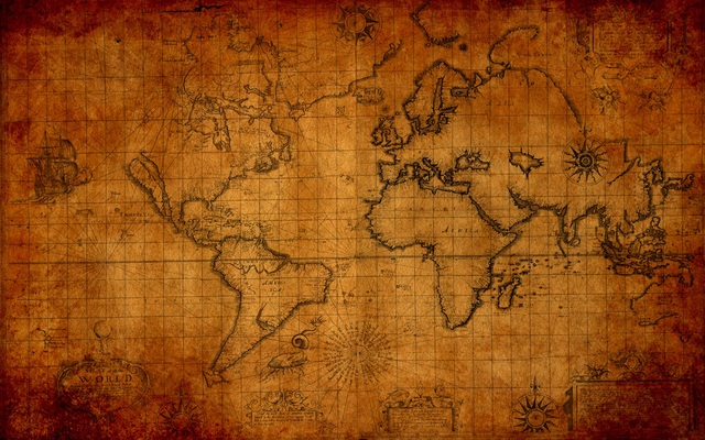 Old maps of the world tumblr old world maps gumiabroncs Image collections