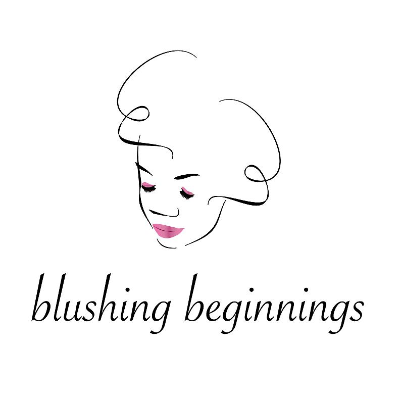 blushing text face