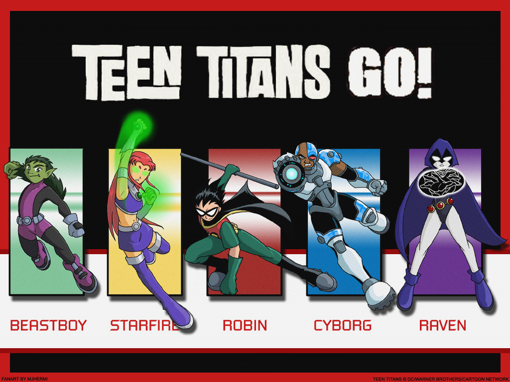 Refrigerator the teen titans reside