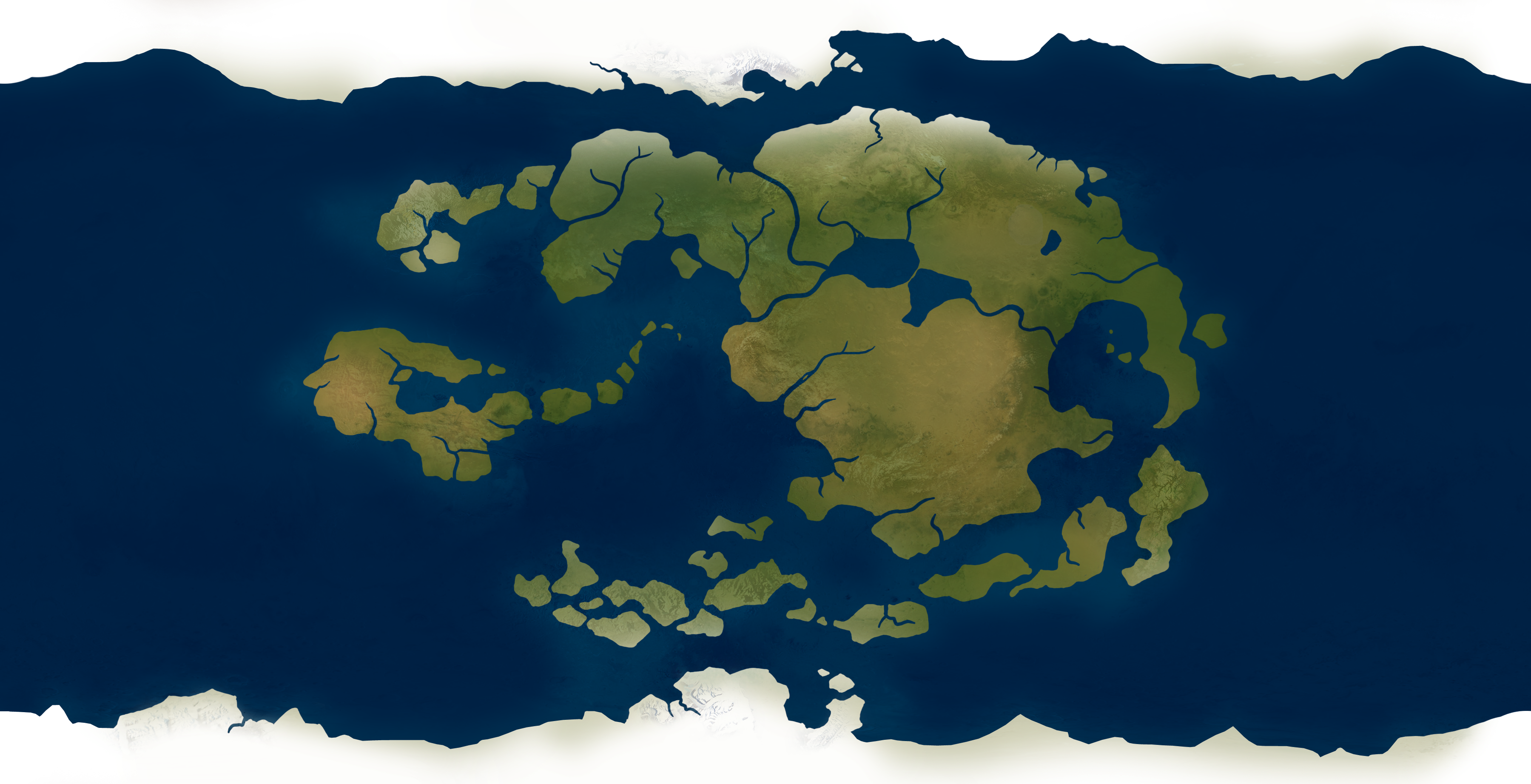 I made a mathematically accurate map of the world of Avatar ...