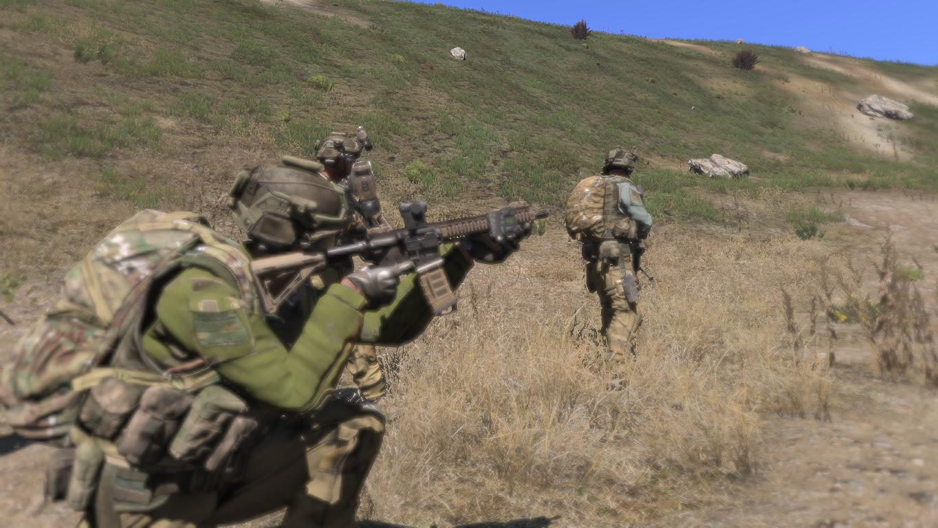 how to connect an arma 3 unit