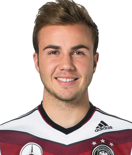 Mario Götze earned a 7 million dollar salary, leaving the net worth at 13 million in 2017