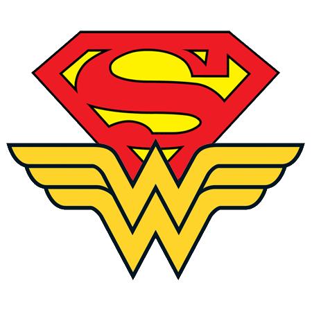 superman et wonder woman en couple