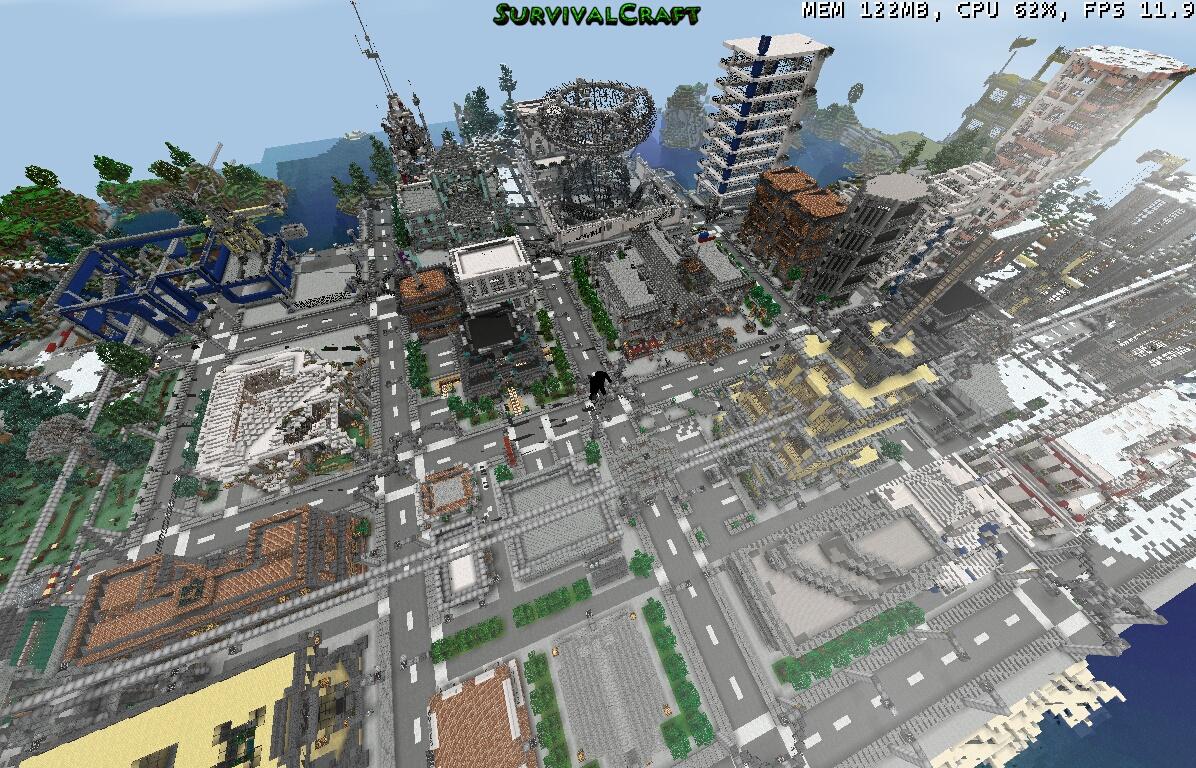 Survivalcraft Maps