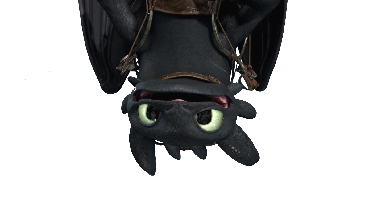 Image result for nightfury upside down png