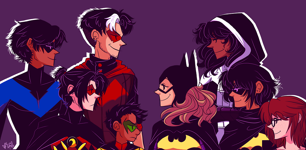 DC COMICS IMAGINES — BatBoys [Who they fall for] Headcanons -