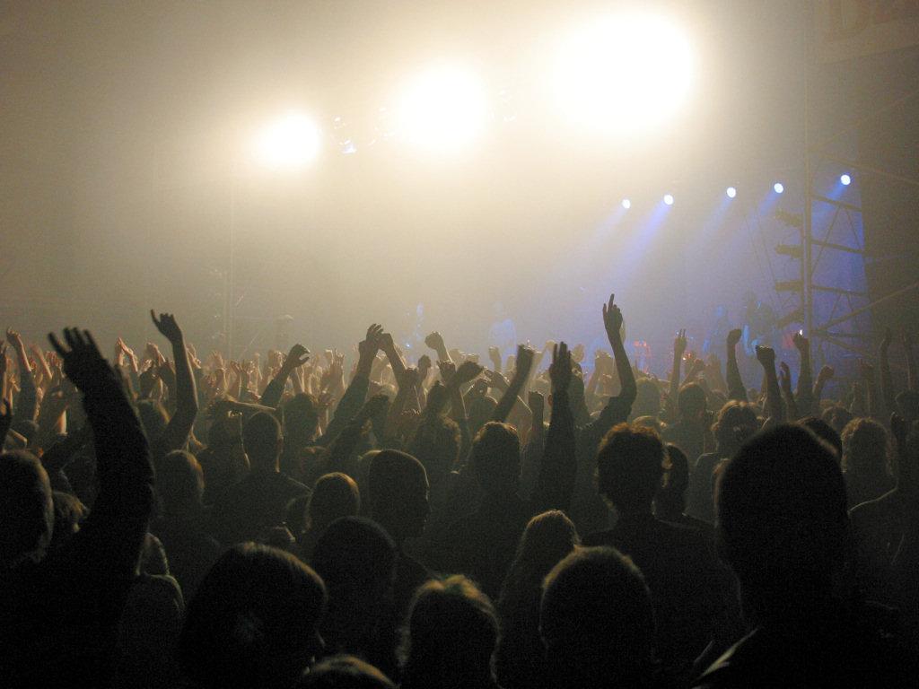 NYFP Concert Hands Tumblr