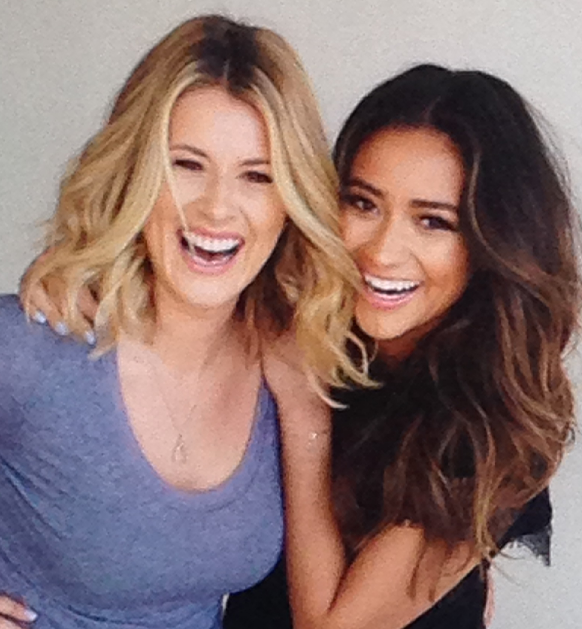 Shay Mitchell & Michaela Blaney