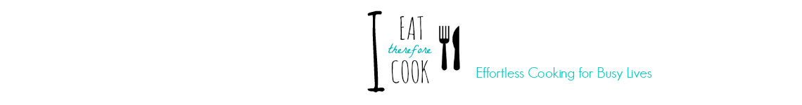 I Eat Therefore I Cook