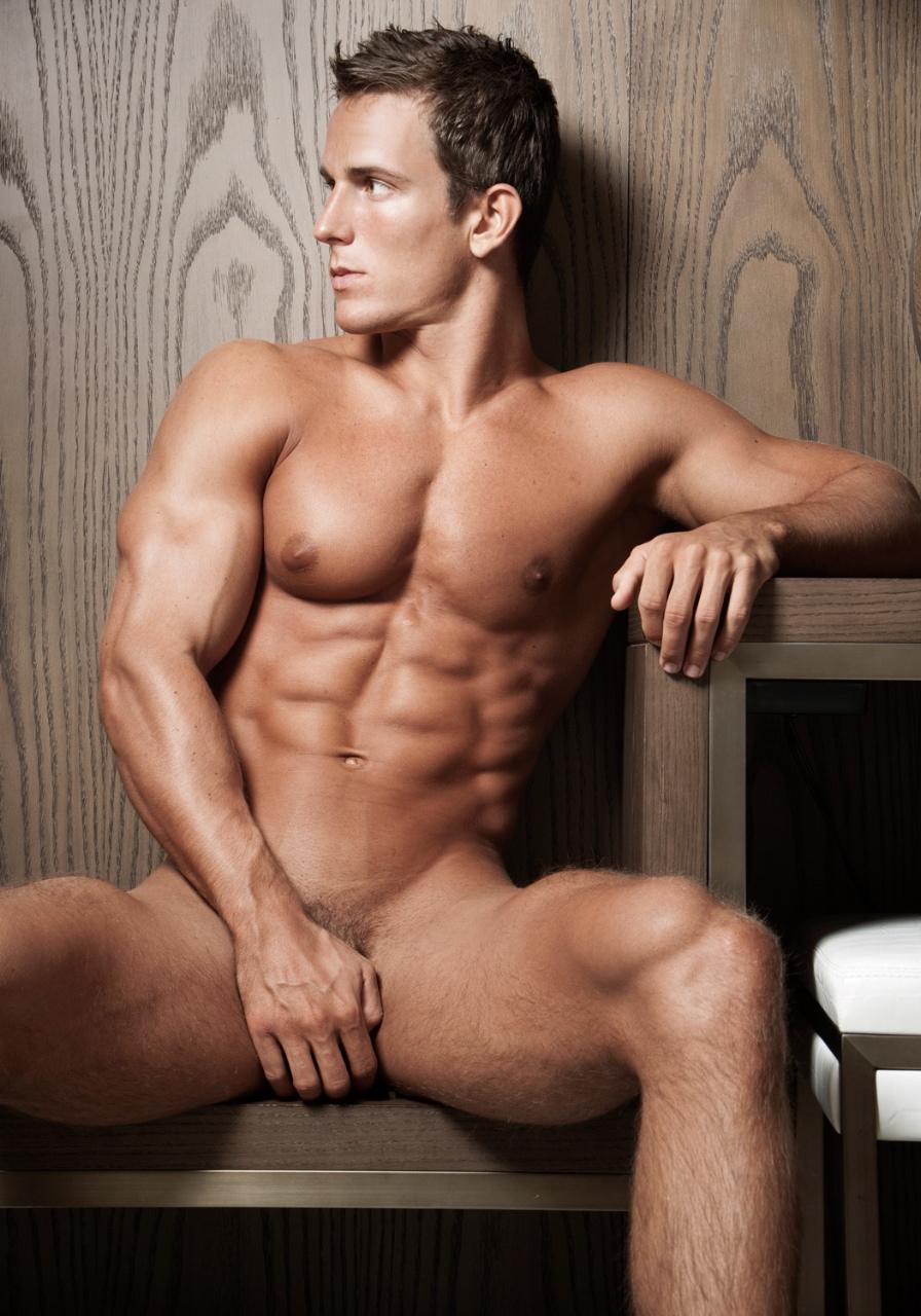 Male underwear models ass