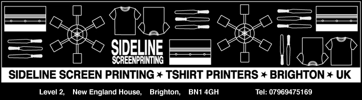 Sideline Screenprinting T Shirt Printer Brighton T Shirt