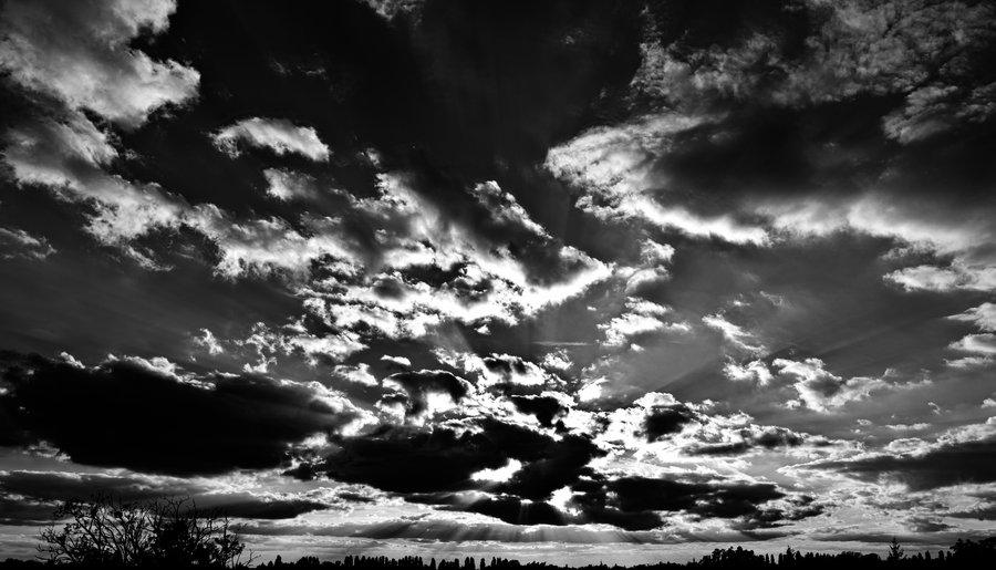 Как сделать небо чернее
