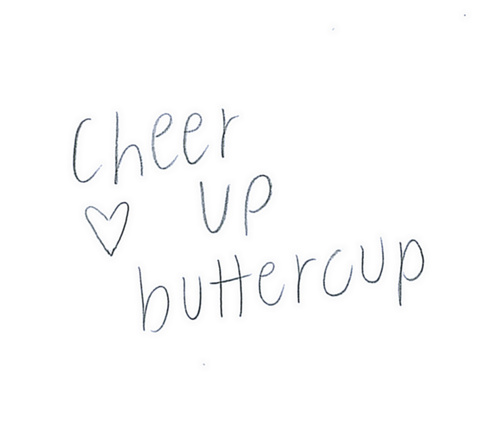 Quotes To Cheer Up A Girl: Cheer Up Buttercup