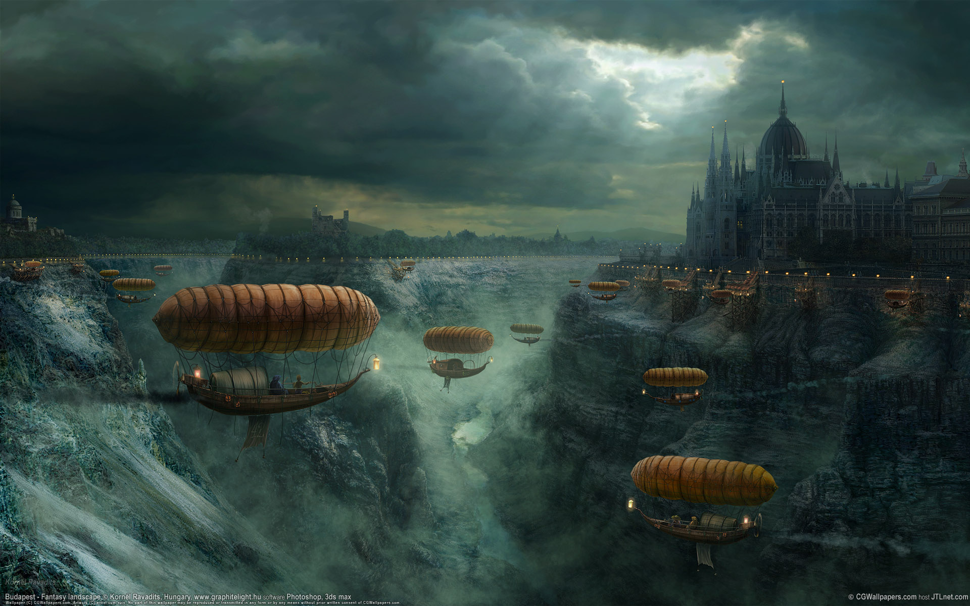 Fantasy war landscape - photo#17