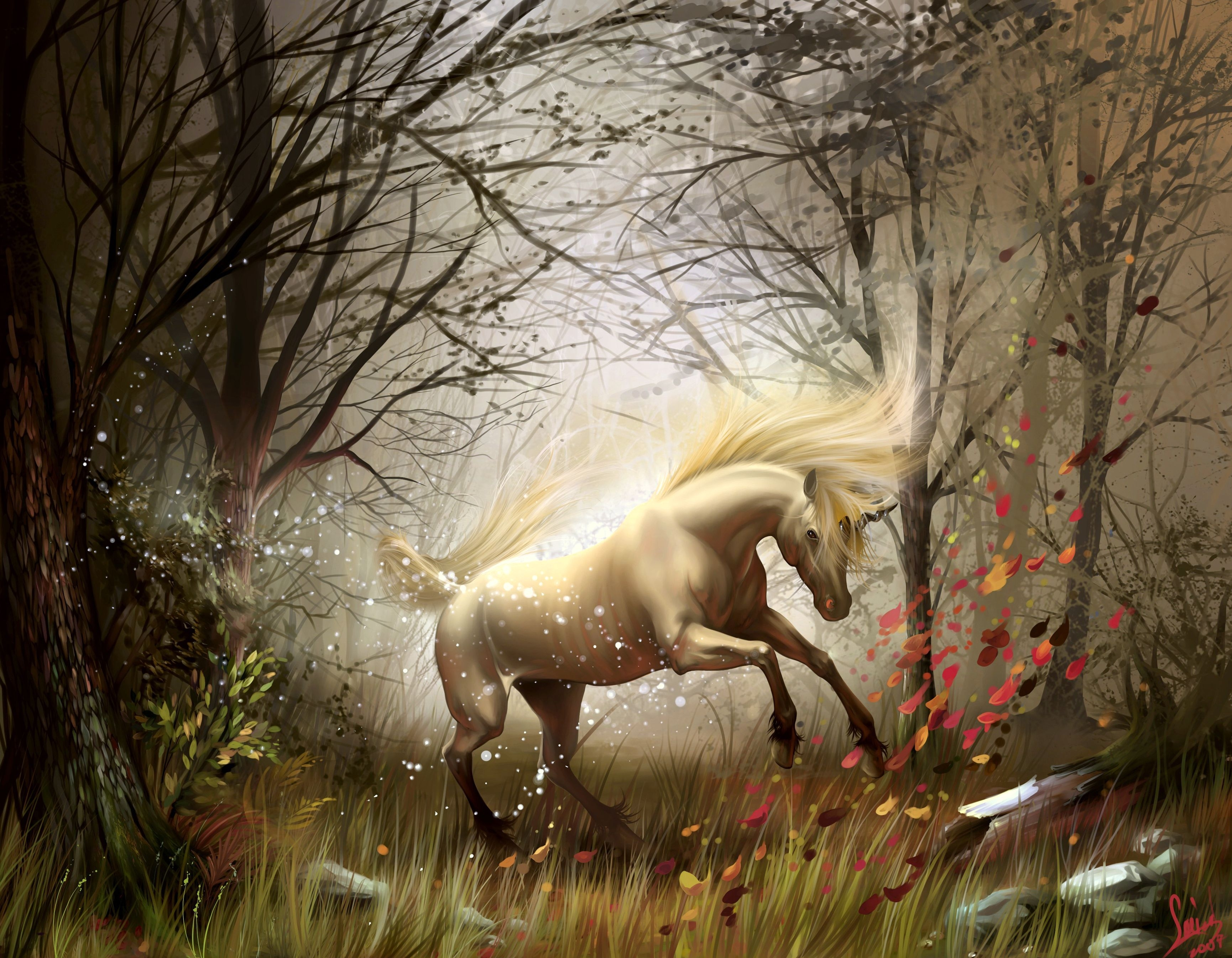 Must see Wallpaper Horse Forest - tumblr_static_224470  Picture_72457.jpg