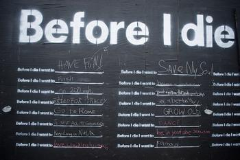 Before I Die / Antes de Morir